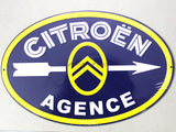 Citroen Service Tin plate collectible signboard