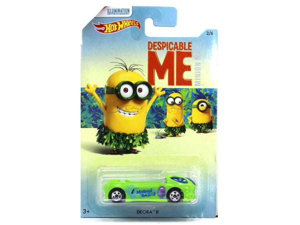 Deora II Despicable me 1:64 Hotwheels diecast Scale Model car