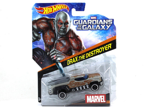 Drax the Destroyer 1:64 Hotwheels diecast Scale Model car