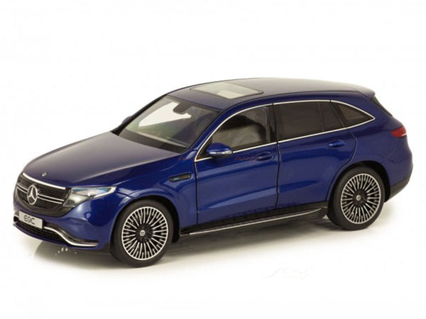 2019 Mercedes-Benz EQC 4Matic N293 blue 1:18 NZG diecast scale model car