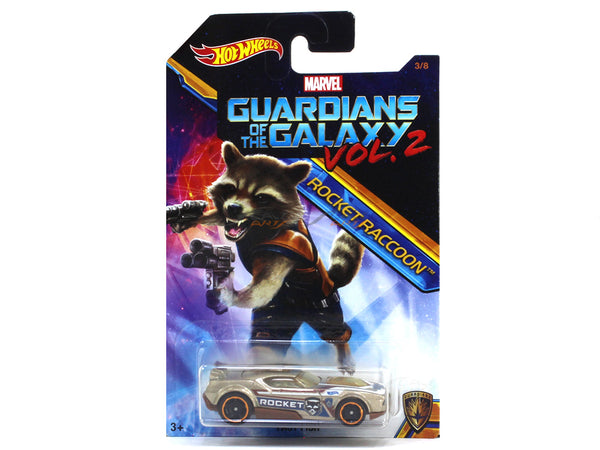 Fast Fish Guardians of the Galaxy Vol. 2 1:64 Hotwheels diecast Scale Model car