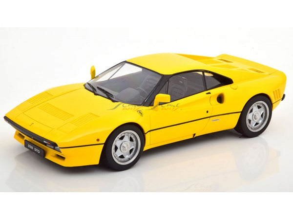 Prebook : 1984 Ferrari 288 GTO yellow 1:18 KK Scale diecast Scale Model Car