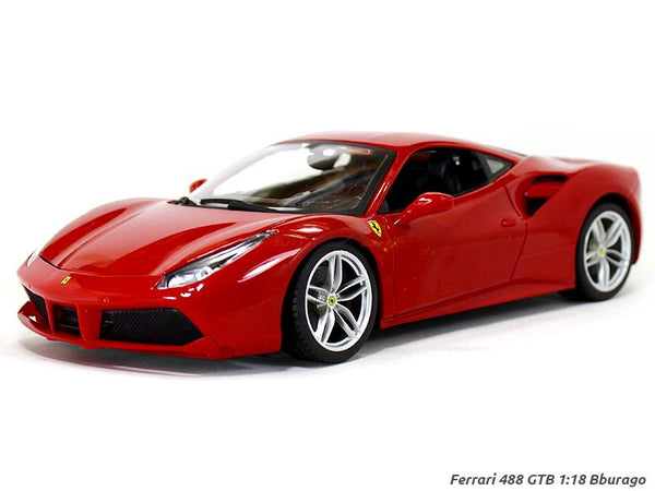 Ferrari 488 GTB  1:18 Bburago diecast scale model car
