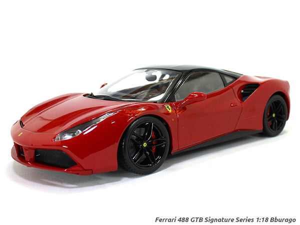 488 GTB Signature Series 1:18 Bburago diecast Scale Model car