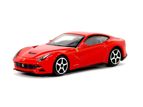 Ferrari F12 Berlinetta red 1:43 Bburago diecast Scale Model car