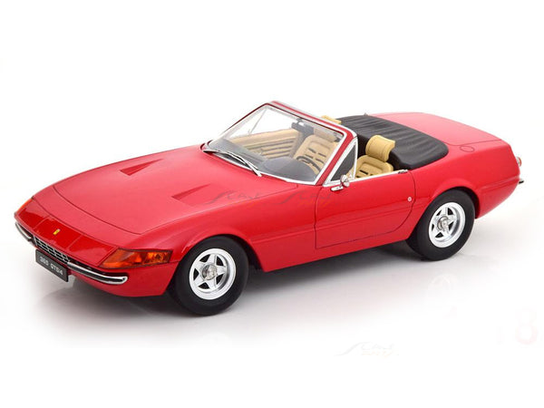 PreOrder :  1971 Ferrari 365 GTB/4 Daytona Cabrio Series II red 1:18 KK Scale diecast model car