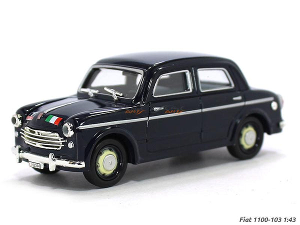 1954 Fiat 1100 103 1:43 DeAgostini diecast Scale Model Car