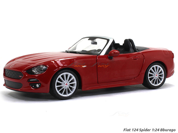 Fiat 124 Spider 1:24 Bburago diecast Scale Model car