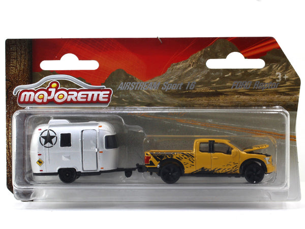 Ford Raptor Airstream Sports 1:64 Majorette diecast scale model car