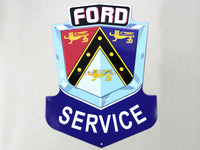 Ford Service Tin plate collectible signboard