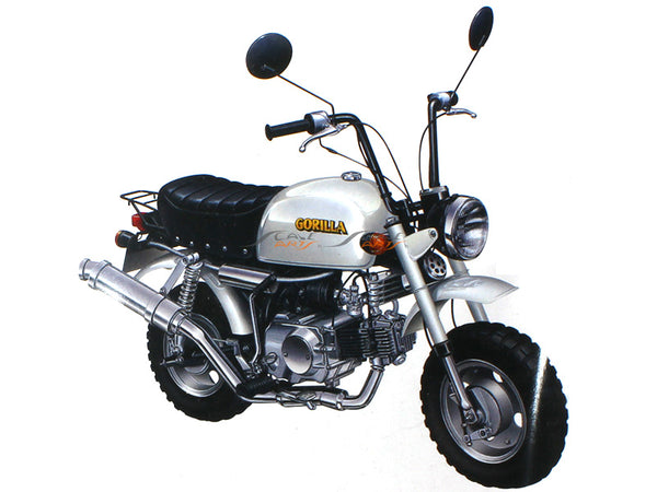 Honda Gorilla Bike Assembley Kit 1:12 Aaoshima diecast Scale Model Bike