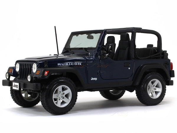 Jeep Wrangler Rubicon open top 1:18 Maisto diecast scale model car