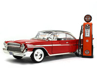 Johnson Gasoline Service Gas Pump set 1:18 Road Signature Yatming diecast model