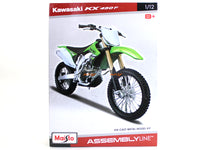 Kawasaki KX 450F 1:12 Maisto Model kit bike scale model collectible