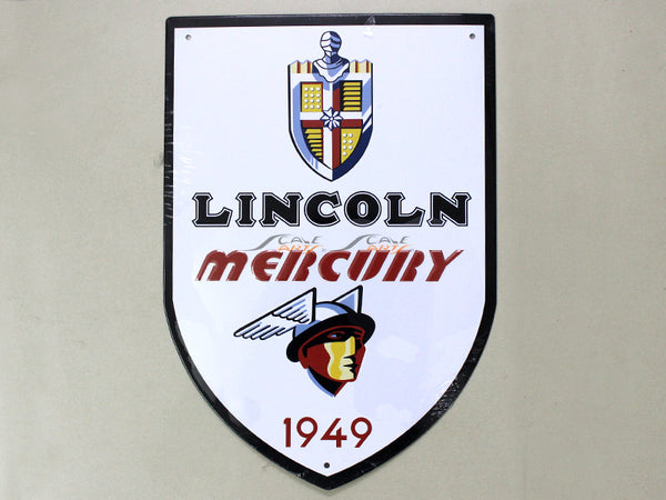 Lincoln Mercury Service Tin plate collectible signboard