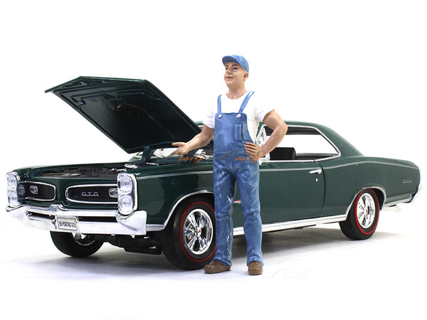 Mechanic 1 figure 1 1:18 American Diorama scale model