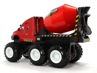 Cement Mixer red Truck Maisto