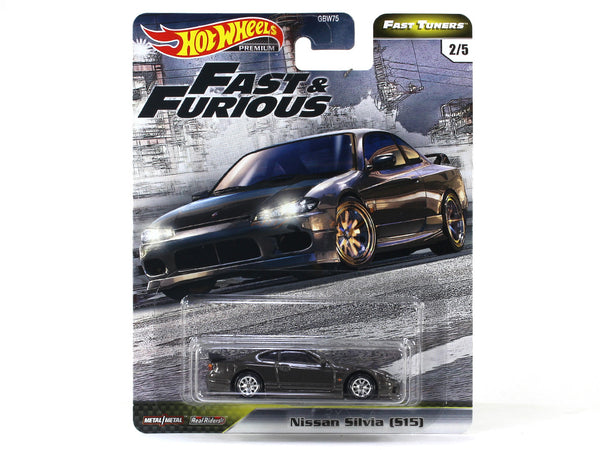 Nissan Silvia S15 Fast & Furious 1:64 Hotwheels premium collectible