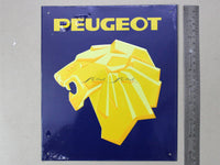 Peugeot Service Tin plate collectible signboard