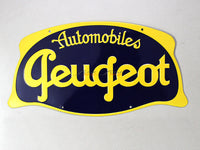 Peugeot Service 2 Tin plate collectible signboard