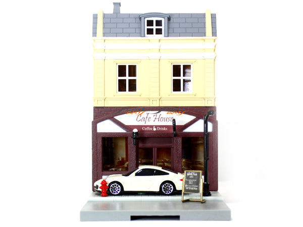 Porsche Turbo 997 1:64 RMZ City Diorama diecast Scale Model