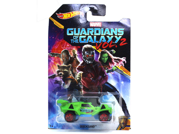 Quicksand Guardians of the Galaxy Vol. 2 1:64 Hotwheels diecast Scale Model car