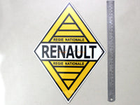 Renault Service Tin plate collectible signboard