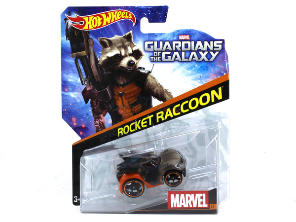 Rocket Raccoon 1:64 Hotwheels diecast Scale Model car