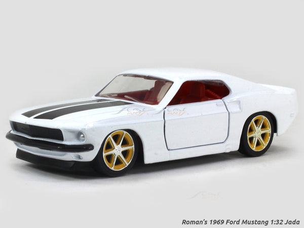 Roman's 1969 Ford Mustang Fast & Furious 1:32 Jada diecast Scale Model Car