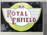 Royal Enfield Tin plate collectible signboard