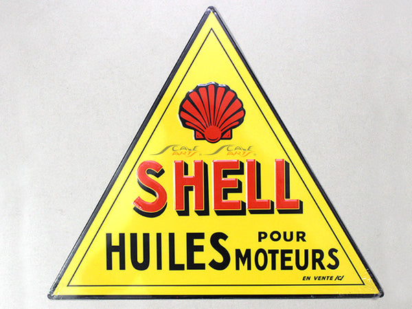 Shell Service Tin plate collectible signboard