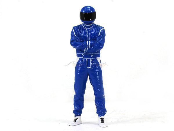 Driver figure blue 1:18 Scale Arts In model figure / accessories