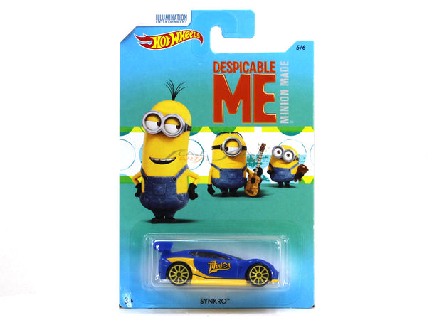 Synkro Despicable me 1:64 Hotwheels diecast Scale Model car