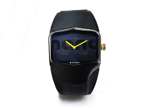 Tata Nano edition Titan mens wrist watch collectible