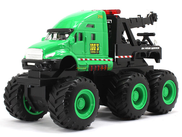 Quarry Monster 24hr Emergency Road Services green Truck Maisto