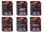 Set of 6 1:64 Majorette Vintage Deluxe assortment diecast Scale Model car
