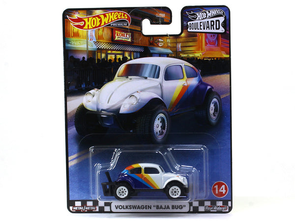 Volkswagen Baja Bug Boulevard series 1:64 Hotwheels premium collectible