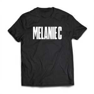 Melanie C (Black/White T-shirt)