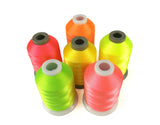 Simthread Polyester Embroidery Machine Thread 6 Spools/Kit, 1000M/Spool