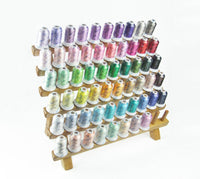 Simthread Rayon Embroidery Machine Thread Kit, 58 Colors, 500M/spool