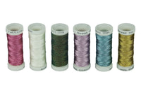 Simthread Metallic Thread for Jewelry Tatting, 50M/Bobbin