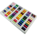 Simthread 32 / 63 colors 300 mtrs each Polyester Embroidery Machine Thread Kit