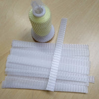 Simthread 50 pieces Embroidery Thread Net 12cm long Spool Socks Prevents Unwinding Perfect for Small / Large Cones