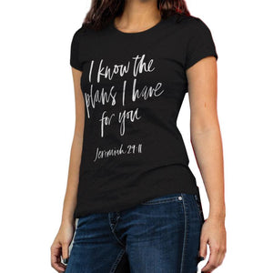 """I know the plans I have for you"" Tee - Cheap Swimwear"