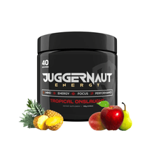 Load image into Gallery viewer, Tropical Onslaught Juggernaut Energy Get Buy Gamer Fuel GFuel New Zealand Auckland Hamilton Wellington Christchurch