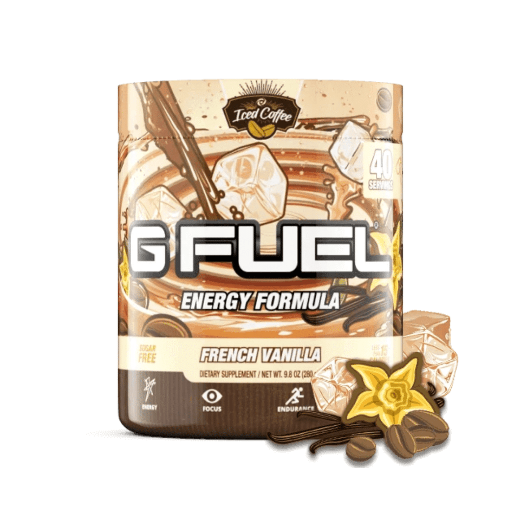 French Vanilla Iced Coffee Get Buy Gamer Fuel GFuel New Zealand Auckland Hamilton Wellington Christchurch