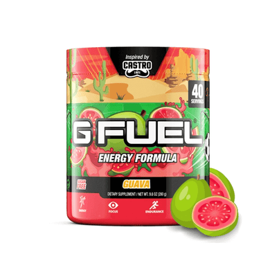 Castro's Guava Get Buy Gamer Fuel GFuel New Zealand Auckland Hamilton Wellington Christchurch