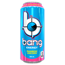 Load image into Gallery viewer, Rainbow Unicorn Bang Energy Get Buy Gamer Fuel GFuel New Zealand Auckland Hamilton Wellington Christchurch