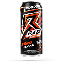 Load image into Gallery viewer, Voodoo Raze Energy Get Buy Gamer Fuel GFuel New Zealand Auckland Hamilton Wellington Christchurch