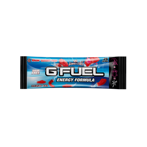 Ragin' Gummy Fish Get Buy Gamer Fuel GFuel New Zealand Auckland Hamilton Wellington Christchurch